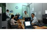 Thầy cô Bộ môn Điện tử họp nhóm môn học Kỹ thuật số