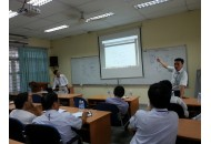 FEEE lecturers have a meeting about learning outcomes of engineering basic courses for ABET evaluation