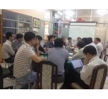 Bộ môn Viễn Thông họp tổng kết năm học 2014-2015