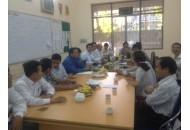Bộ môn Viễn Thông tổ chức buổi họp tổng kết các công tác của học kỳ I/2015-2016