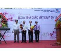 Khoa Điện - Điện tử tổ chức lễ kỷ niệm ngày nhà giáo Việt Nam 2016