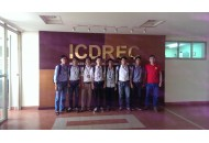 Sinh viên ngành điện tử - viễn thông thực tập kỹ thuật tại trung tâm ICDREC