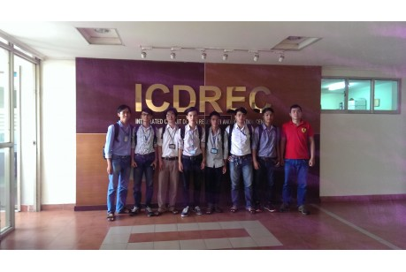 Students did engineer internship at ICDREC