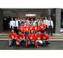 CBGD Khoa Điện - Điện tử tham gia thi liên hoan văn nghệ Công Đoàn trường