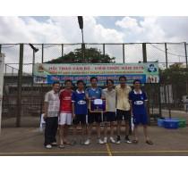 Giải bóng chuyền Công đoàn trường 2016