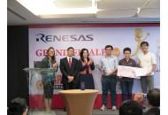 Sinh viên Khoa Điện-Điện tử đạt giải nhất cuộc thi Renesas GR Peach Design Contest 2017