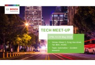 Bosch Tech meet-up, 13h, thứ 6, 25/5/2018