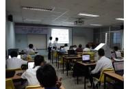 Sinh viên ngành Điện tử khóa K13 bảo vệ Luận văn tốt nghiệp
