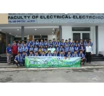 Chiến dịch mùa hè xanh của sinh viên Khoa Điện-Điện tử 2018