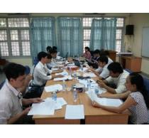 Họp Ban chấp hành Công Đoàn Khoa mở rộng 4/6/2014