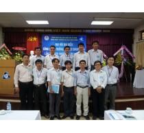 Đại biểu Khoa Điện-Điện tử tham dự đại hội Công đoàn trường 2014