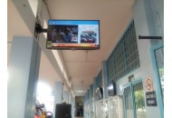 FEEE installed 5 new broadcast display LCD sponsored by SNT company