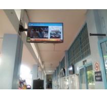 Khoa Điện-Điện tử lắp đặt 5 màn hình quảng bá do công ty SNT tài trợ