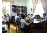 Bộ môn Điện tử họp tổng kết học kỳ 1 năm học 2014-2015