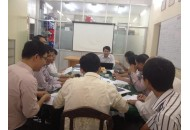 Meeting of Department of Telecommunication for preparing official congress 2014.