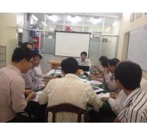 BM Viễn Thông họp chuẩn bị Đại hội CBCNVC cấp Khoa và Trường năm 2014.