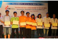 Congratulation for HCMUT Computer Olympic team 2014