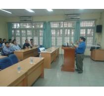 Seminar về hướng nghiên cứu mới của các kỹ thuật hệ thống viễn thông tương lai