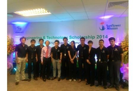 The Sunflower Mission scholarship award ceremony