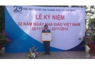 "Congratulation for Professor NGUYEN DUC THANH reveiving the honor ""Excellent Lecturer"""