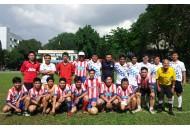 Đội bóng Khoa Điện-Điện tử tham gia giải đấu tứ hùng do CĐ Trường tổ chức