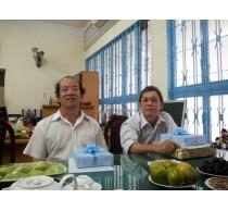 Gặp gỡ thầy Tống Văn On và thầy Nguyễn Chí Nghĩa tại Khoa Điện-Điện tử