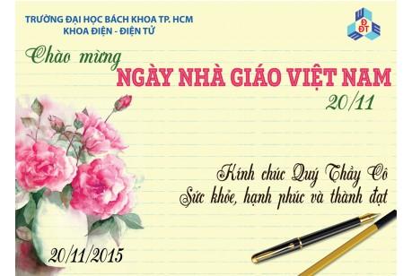 Congratulation Vietnamese Teacher Day 20-11