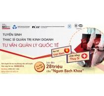Chương trình Thạc sĩ Quản Trị Kinh Doanh, học tại Việt Nam nhận bằng Thụy Sỹ