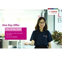 Chương trình One Day Offer - Cơ hội thực tập tại Bosch Engineering Vietnam